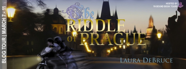 The Riddle of Prague tour banner